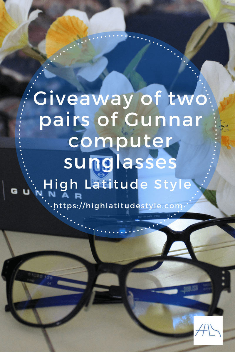 #giveaway two winners will get 1 pair of Gunnar eye wear each Giveaway banner