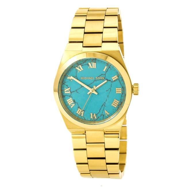 #lastminutegiftideas #accessoriesover40 MK turquoise watch