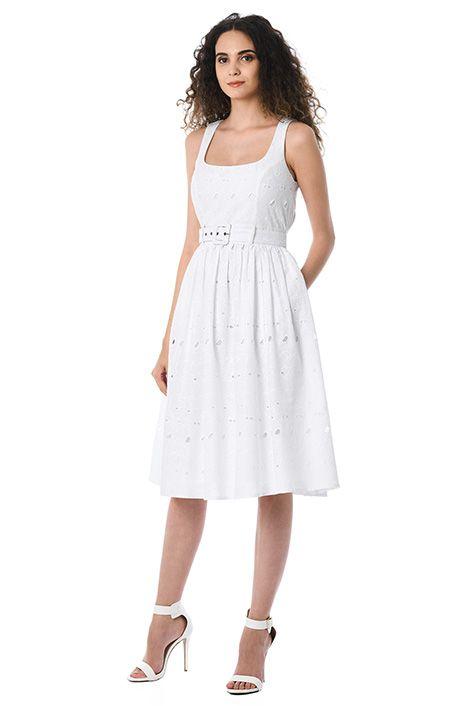 #dressforyourbodyshape little white dress for busty women