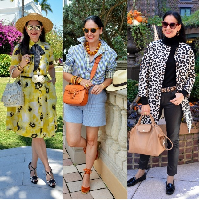 #classicstyleover40 #dressing4weather Susana Fernandez summer and winter looks