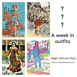 My week in outfits (summer look inspirations for mature women)