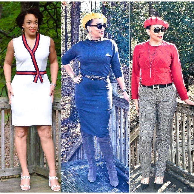 Erica Bunker in Alabama summer, fall and winter outfits
