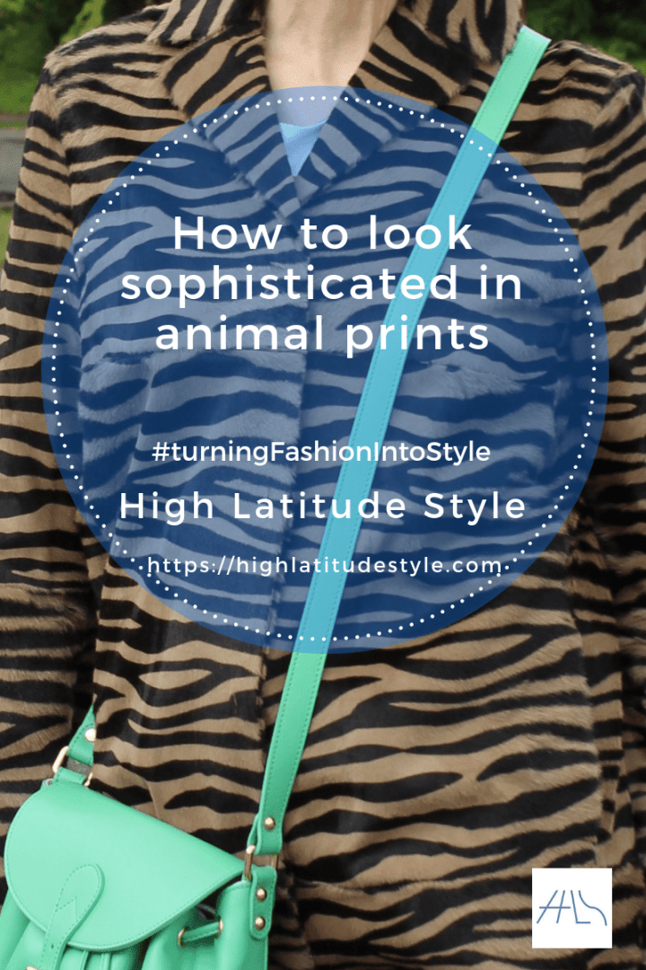 #turningFashionIntoStyle How to look sophisticated in animal prints post logo