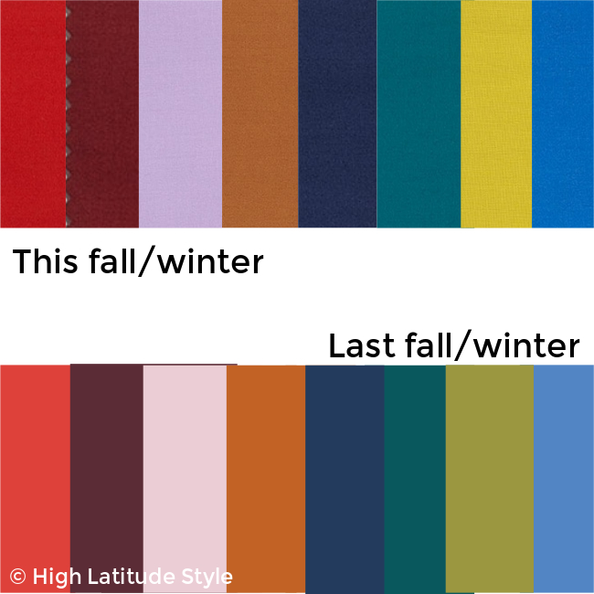 #Pantome #colors comparison of this and last years It fashion-colors