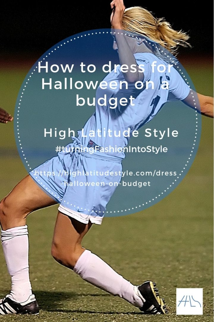 post banner how to get a Halloween costume on a budget