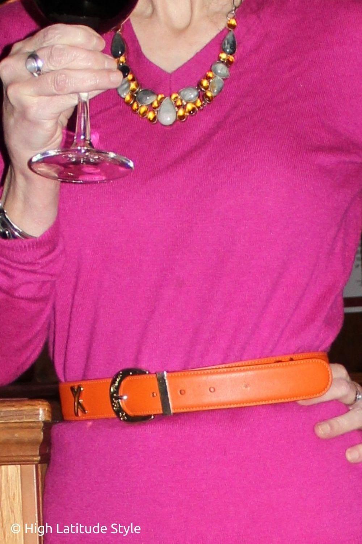 moonstone citrine necklace, xo belt