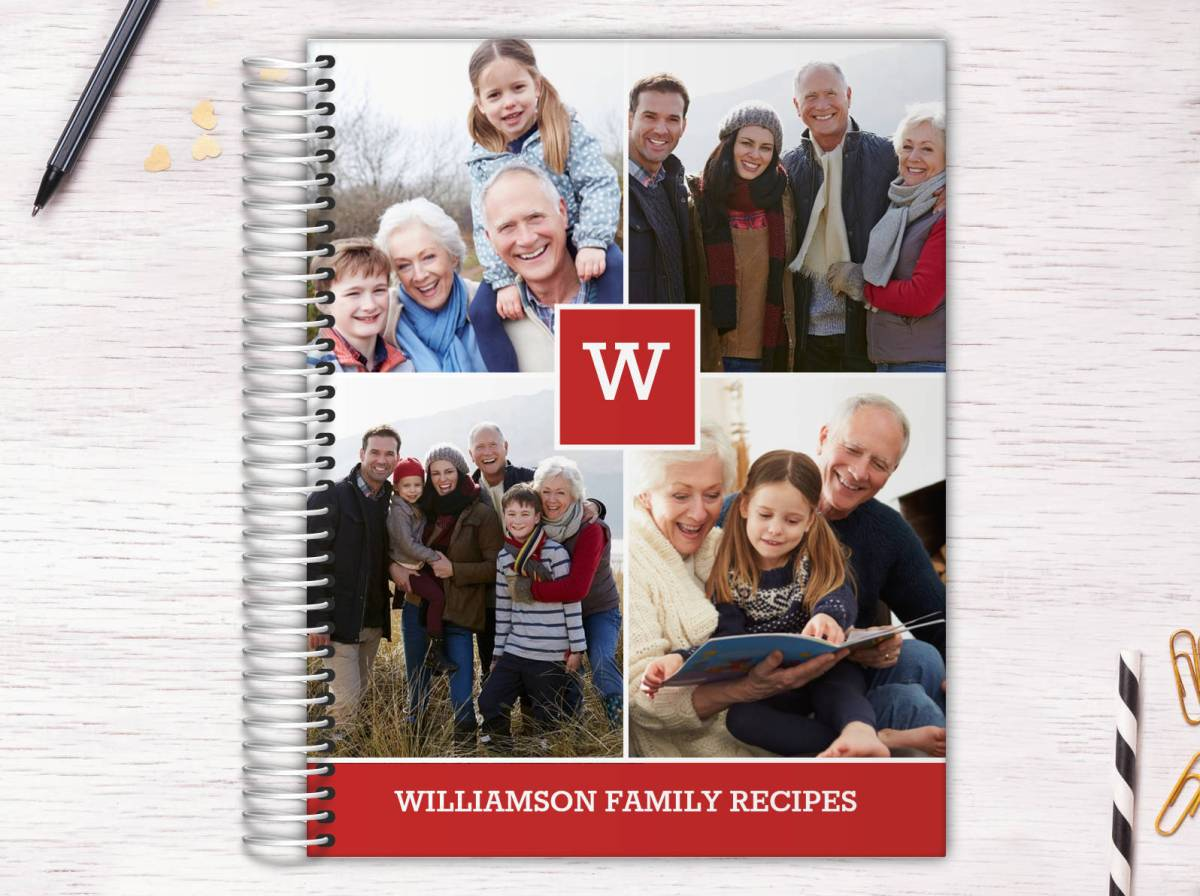 food conserve the family recipes with a recipe book made to order