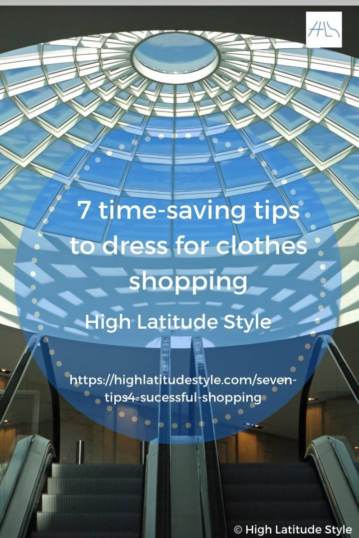 7 time-saving tips to dress for clothes shopping