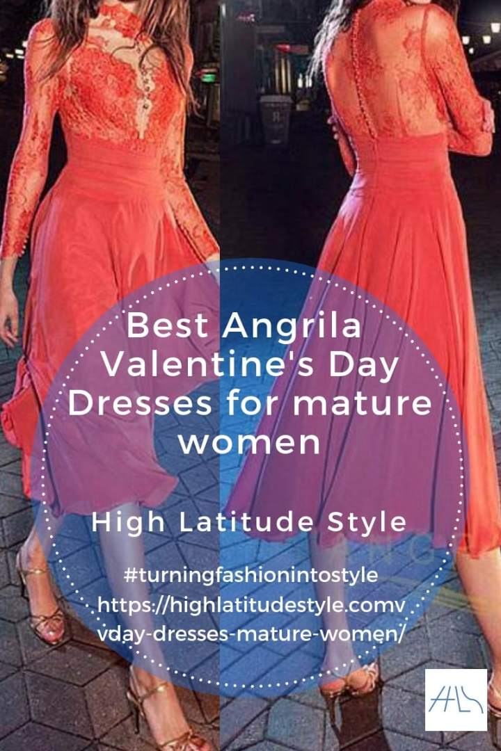 Angrila Vday post banner with water melone romantic lace outfit