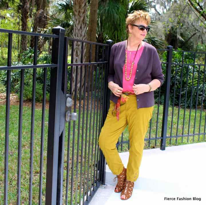 Top of the World OOTD My Fav Kim of Fierce Fashion Blog in a great color combination
