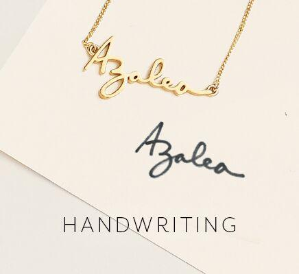 personal jewelry featuring your signature
