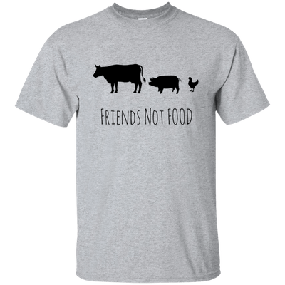 Leafy Souls veagn fashion friends not food solgan shirt example