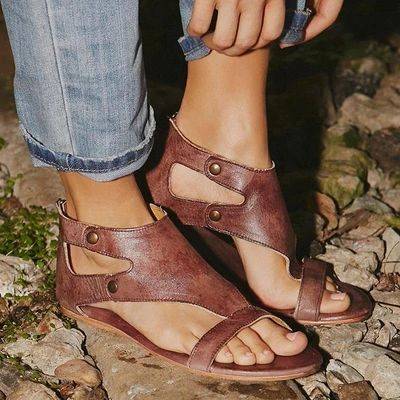 ankle strap gladiator sandals