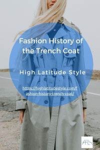Read more about the article Fashion History of the Trench Coat