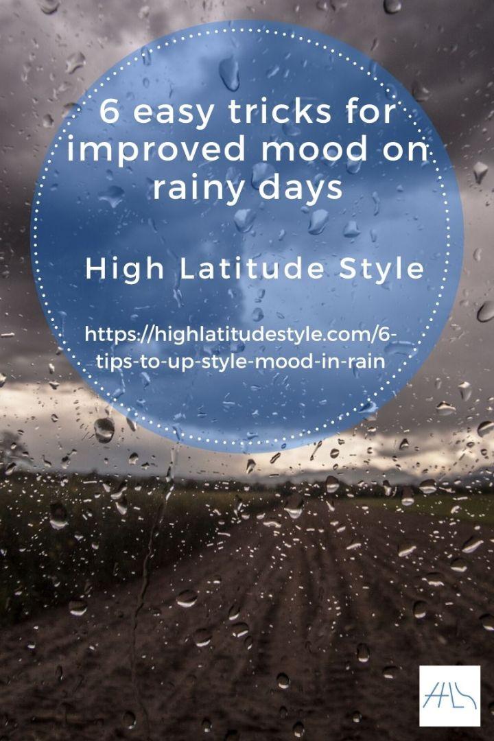 post banner for 6 easy tricks for improved mood on rainy days