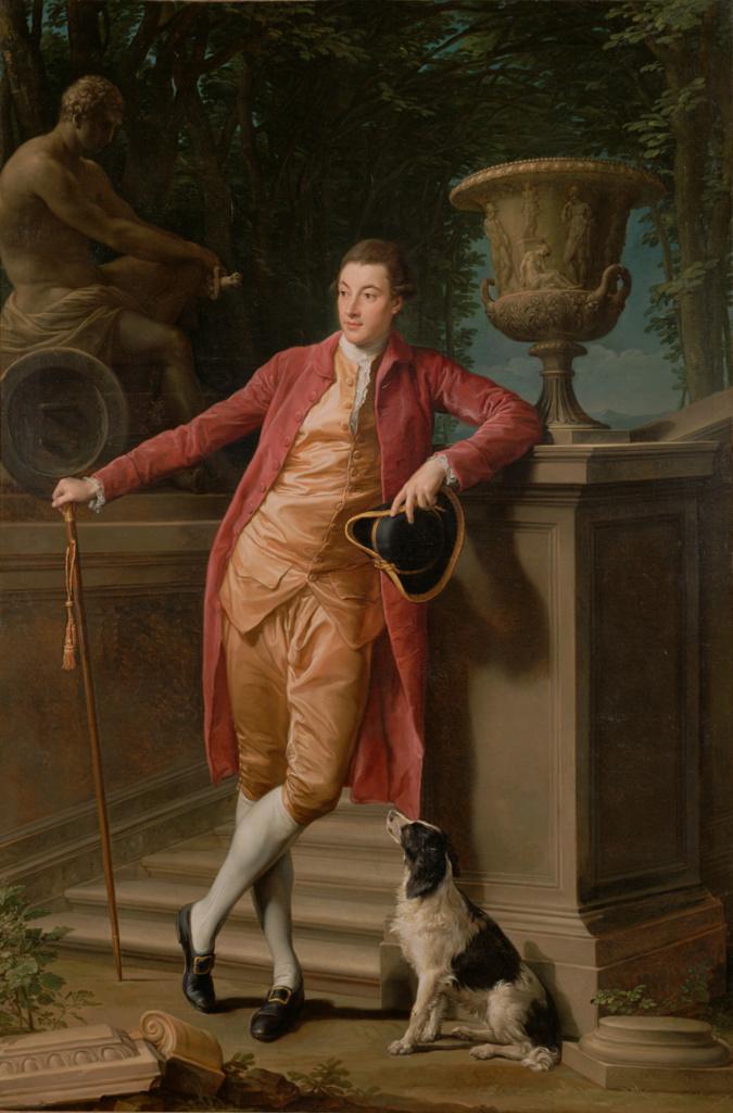 Pompeo Batoni Portrait of John Talbot