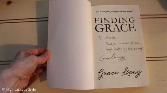 pre-lauch review copy of Finding Grace