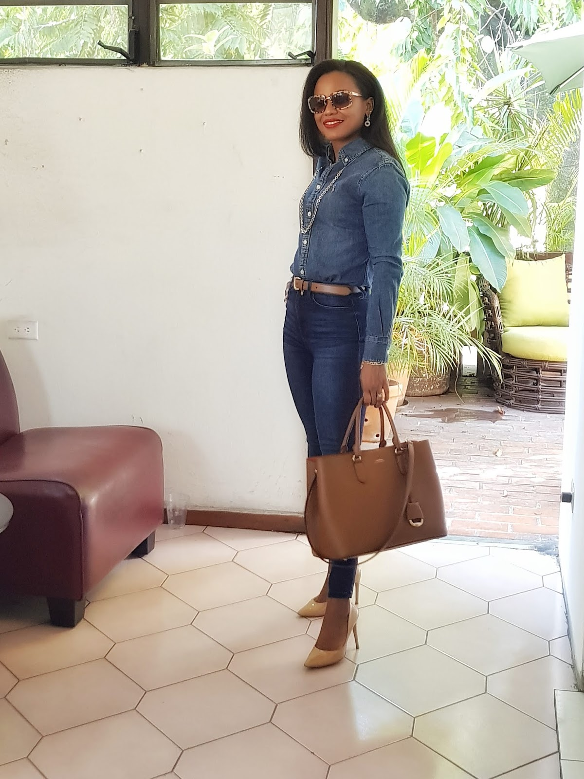 Top of the World Style Winner Iris of La Moumous in double denim