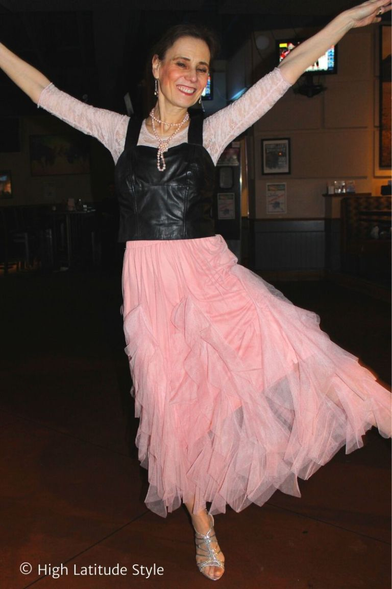 Lily Lulu Anais pink tulle skirt review