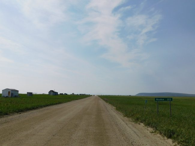 Alaska highway outside of Nome....20 miles by jimmywayne CC BY-NC-ND 2.0
