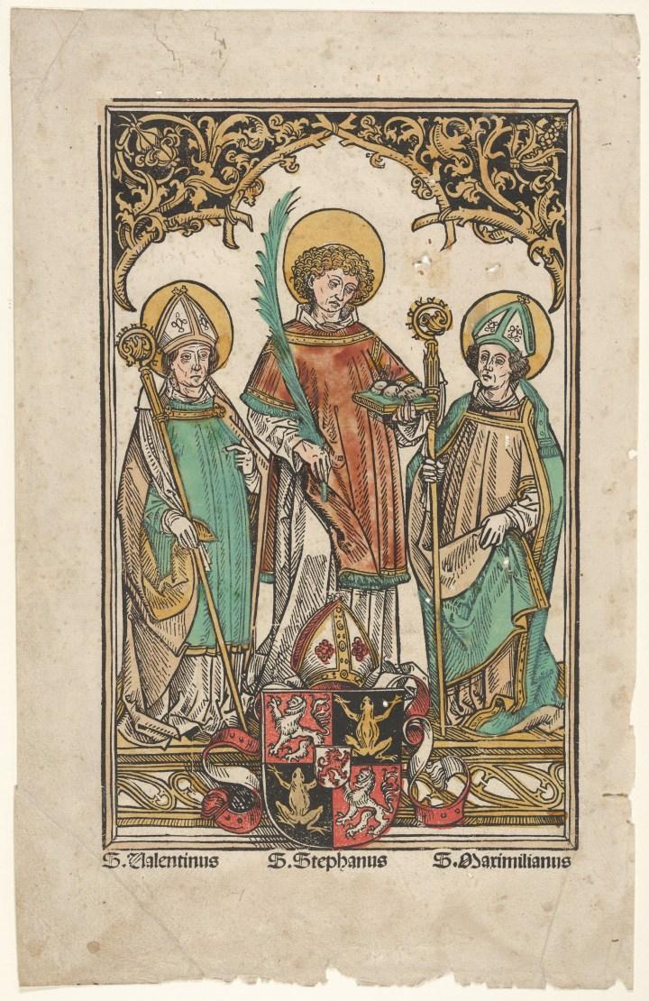 painting of Saints Credit Line: Bequest of James Clark McGuire 1930