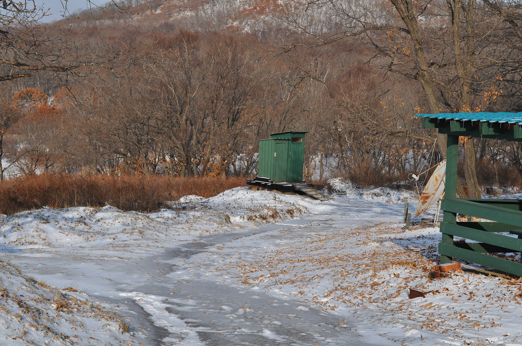"""Outhouses"" by paukrus is licensed under CC BY-SA 2.0"