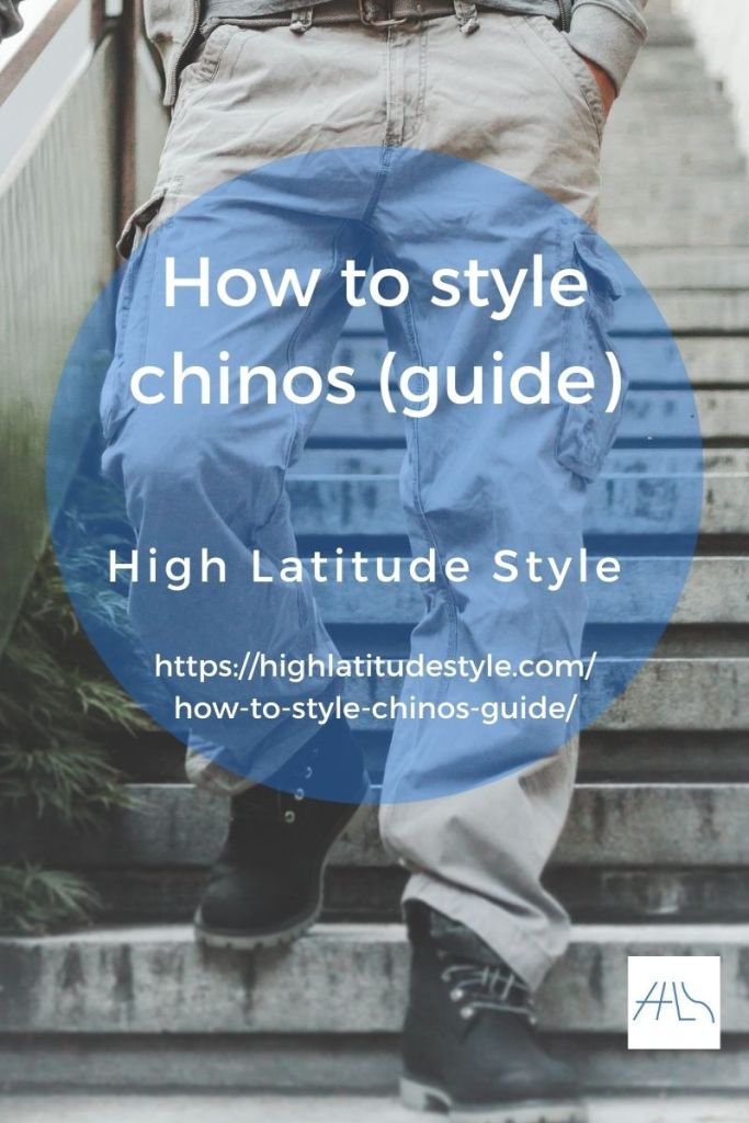how to wear chinos post logo showing a guy in these pants