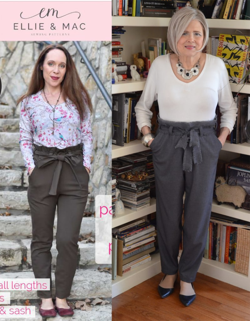 Terrie from Meadow Tree Style in paper bag pants