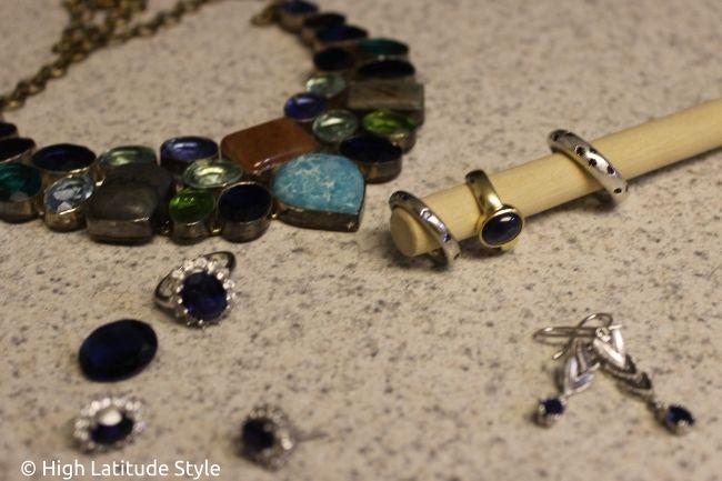real sapphire rings versus lab-created
