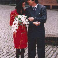 The wearing my wedding dress challenge