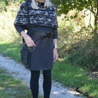 Colorful neckerchief boosts up a Casual Friday look | linkup