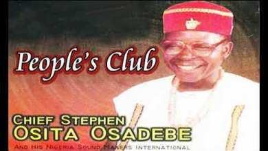 Photo of Chief Stephen Osita Osadebe – Peoples Club Odogwu