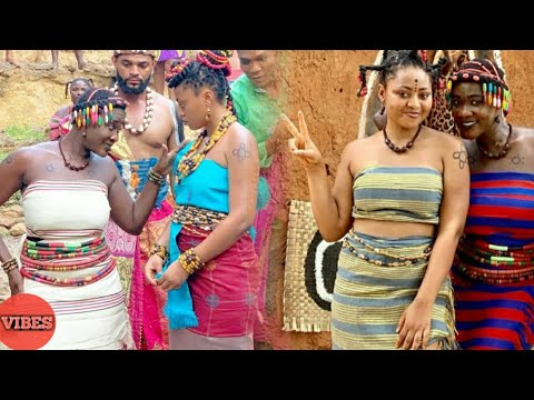 Watch! Mercy Johnson Vs Regina Daniels in A Dance (Igbo Nollywood Cultural Dance)