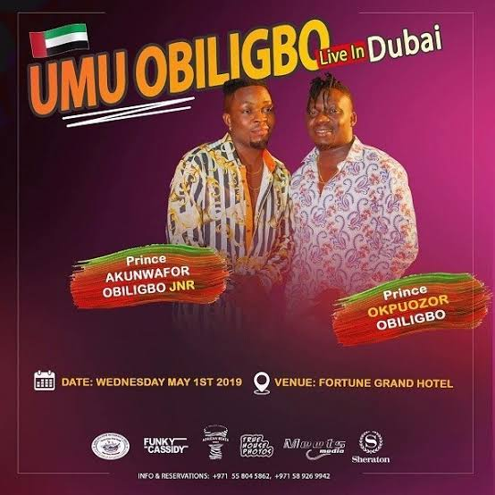 Watch Video: Umu Obiligbo Performs Live in Dubai