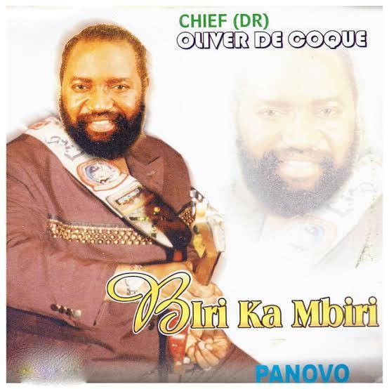 Chief Oliver De Coque - Otu Abughi Nezi