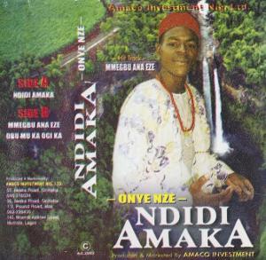 Onyenze Nwa Amobi - Ndidi Amaka | Igbo Highlife Music