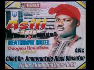 Aronwanteje Alusi Olinaofor - Asili (Nigerian Highlife Music)