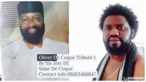 FULL ALBUM: Solar De Coque - Tribute To My Father (Latest Igbo Highlife Music/Songs)