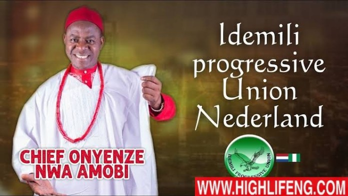 Chief Onyenze Nwa Amobi - Idemili Progressive Union (Idemmili Ana Nso)