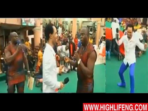 VIDEO: Okwesiri Eze (Okwesilieze) sings for Prophet Odumeje after American Embassy released his VISA to him