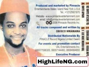 Obisco Nwamama - OGBA MPERE