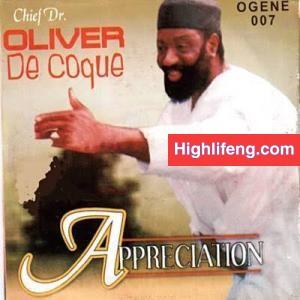 Chief Dr Oliver De Coque - Appreciation