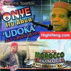 Chief Dr Emeka Morocco Maduka - Udoka Age Grade Ojoto