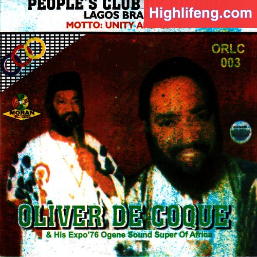 Chief Dr Oliver De Coque - Ndi Oma Eji Eje Mba
