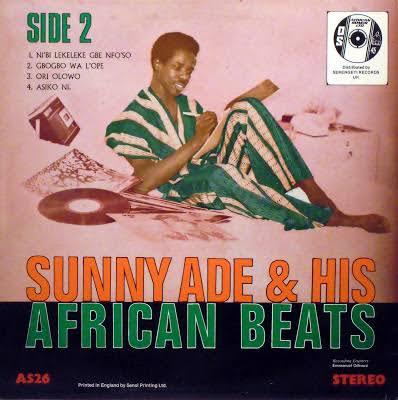 Sunny Ade And His African Beats - NiBi Lekeleke Gbe NfoSo (Latest Yoruba Old Juju Music)
