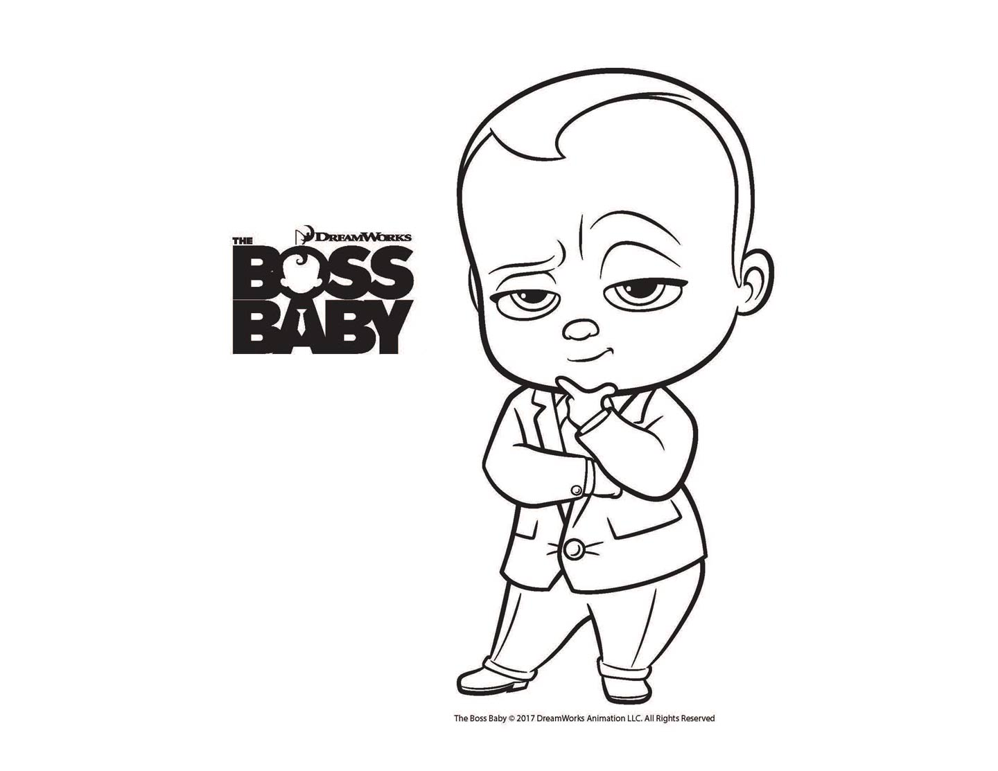 Boss Baby Printables Free Coloring Printables For The