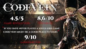 Code Vein Crack Free Download Codex Torrent PC Game