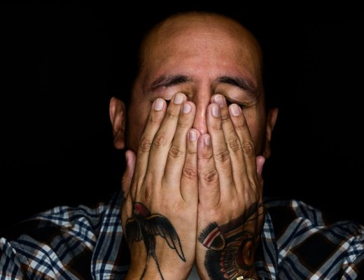 A highly sensitive person feeling overwhelmed