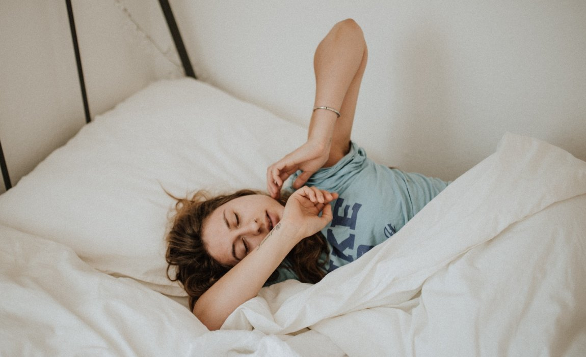 A highly sensitive person feels better after sleeping.