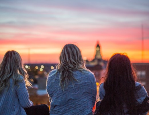 an introvert, empath, and highly sensitive person watch the sunset